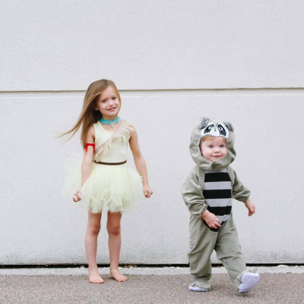 DIY Pocahontas and Meeko Costumes
