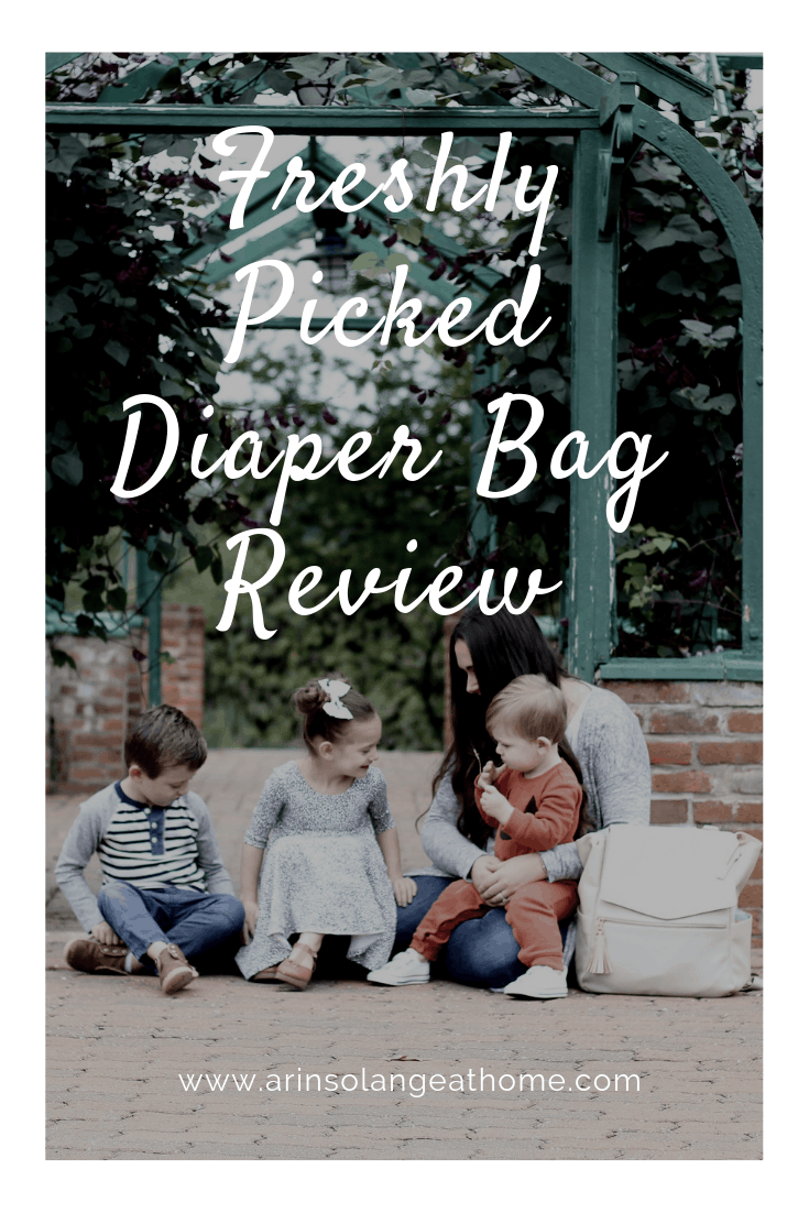 Freshly Picked Diaper Bag Review
