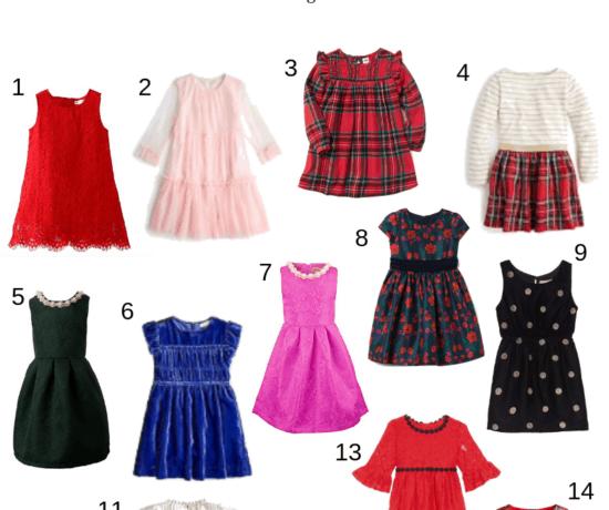 toddler Christmas dresses