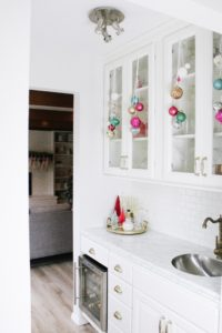 Merry and Bright kitchen Bar