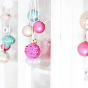merry and bright kitchen decor
