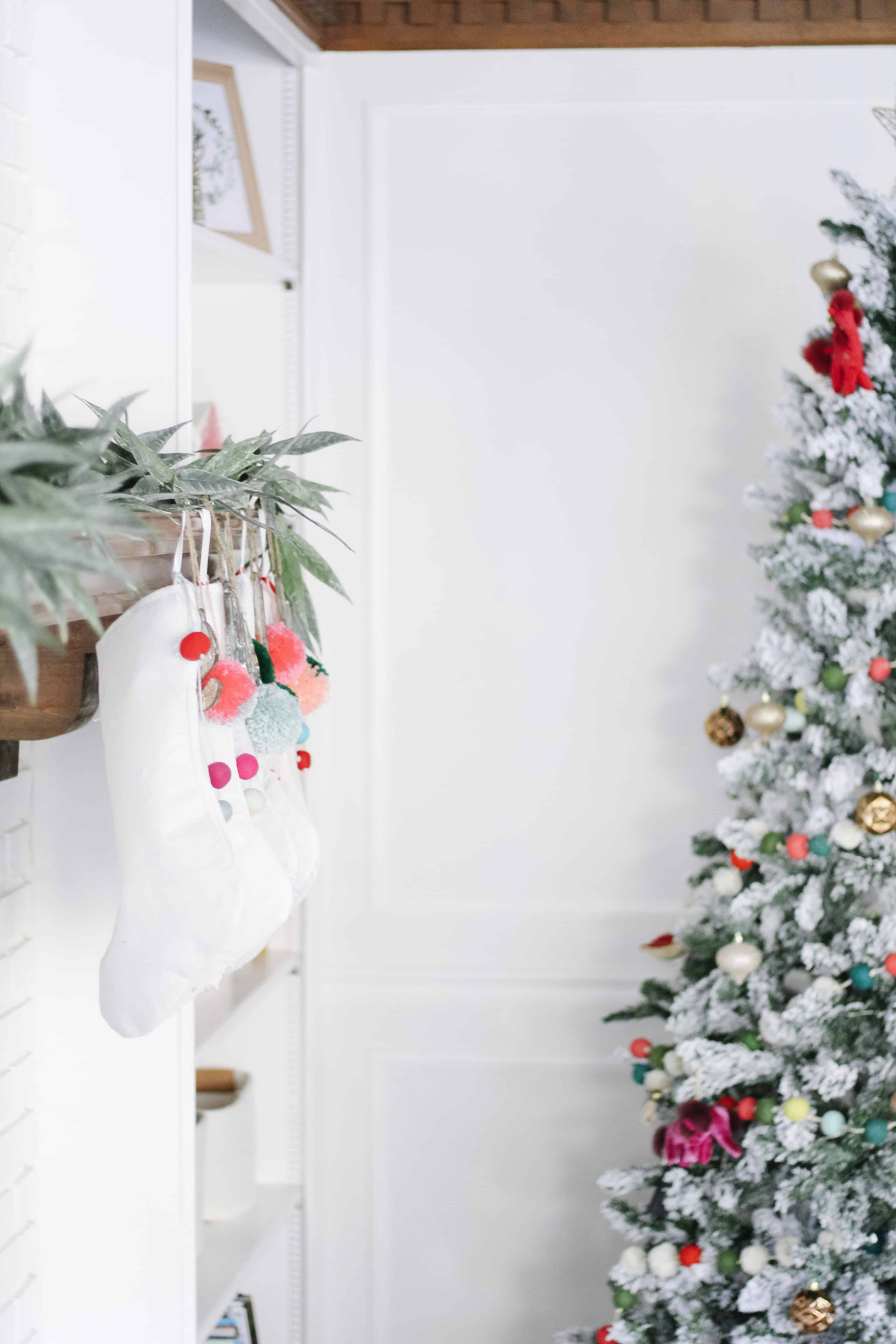 Merry and Bright living room