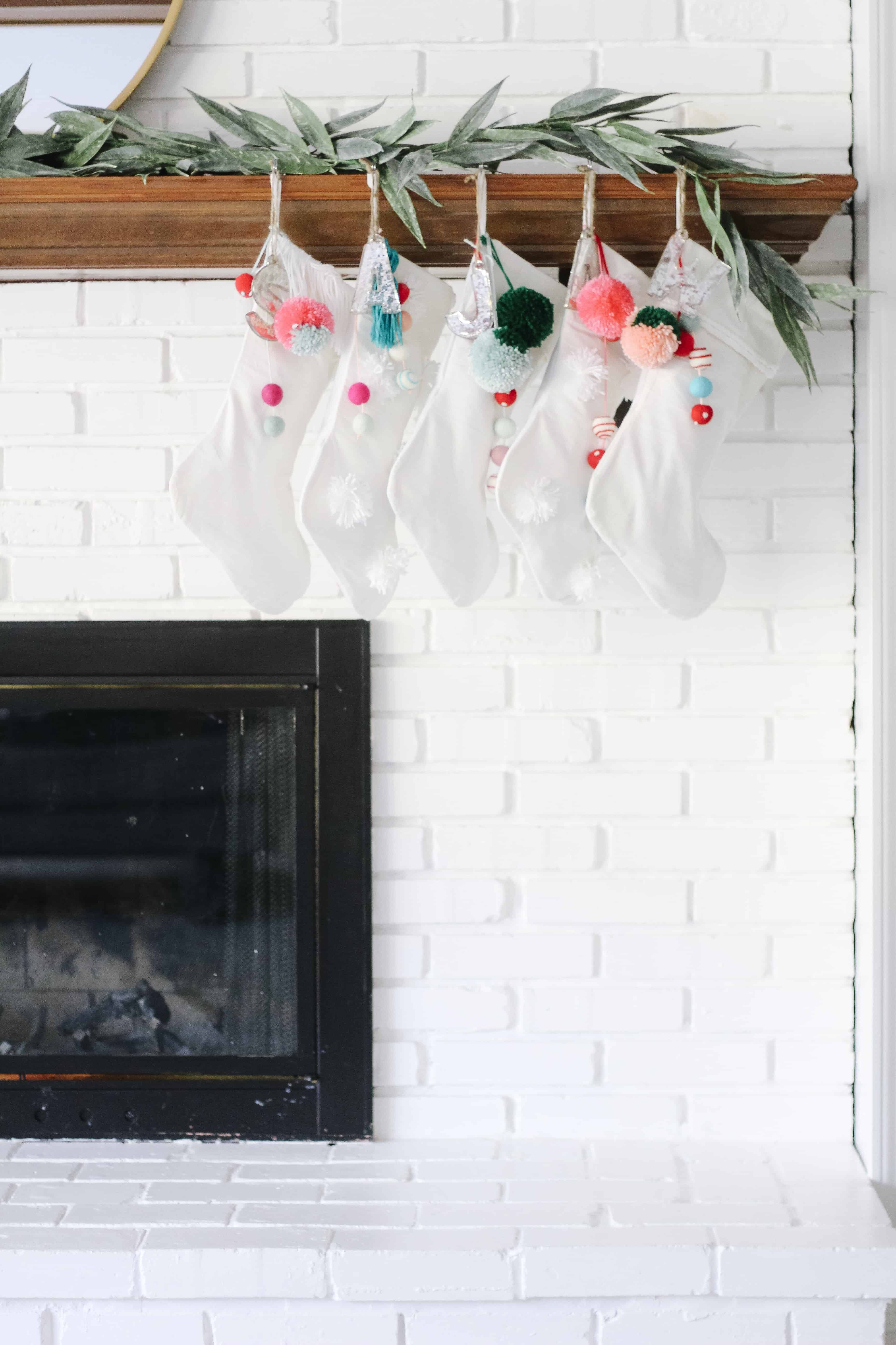 Merry and Bright stockings