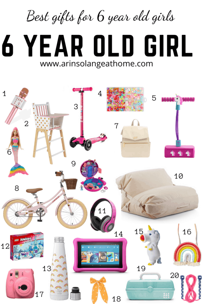 6 year old girl gift guide