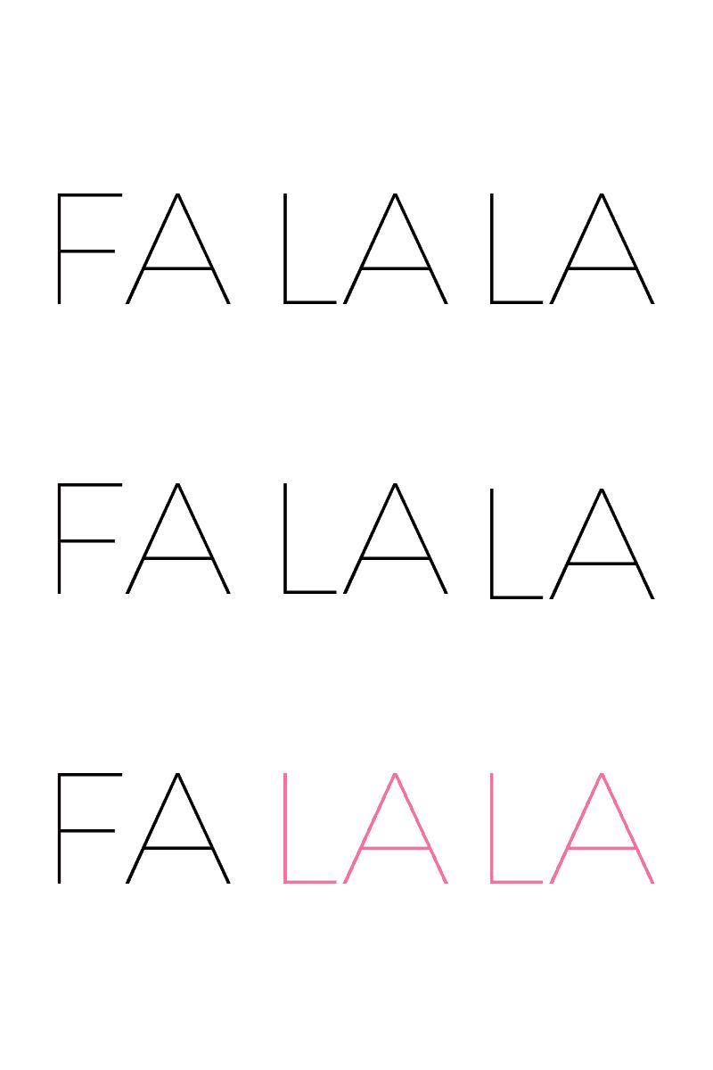 free FALALA printable