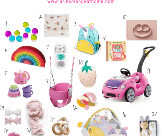 Gift guide for baby girls