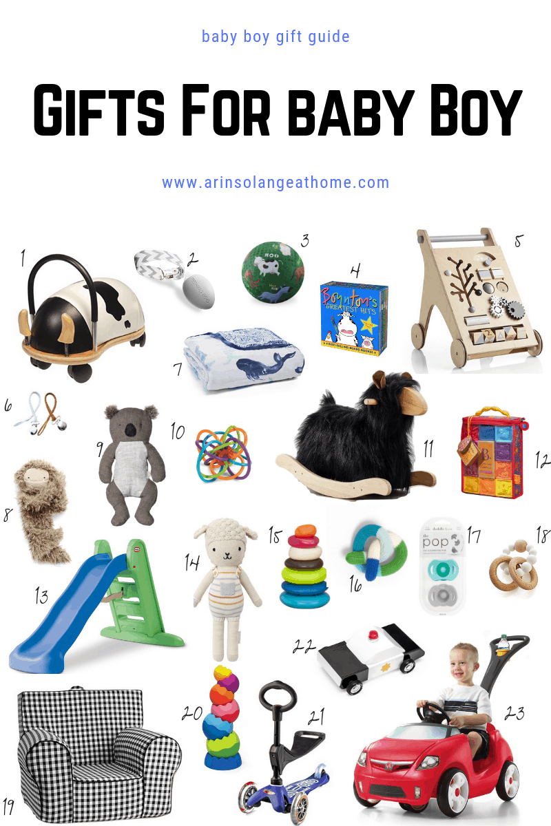 baby boy gift guide