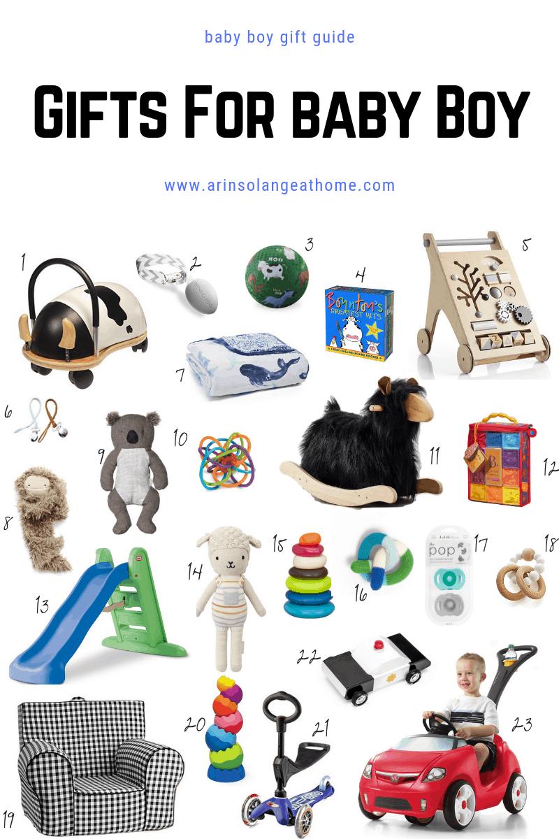 baby boy gift guide