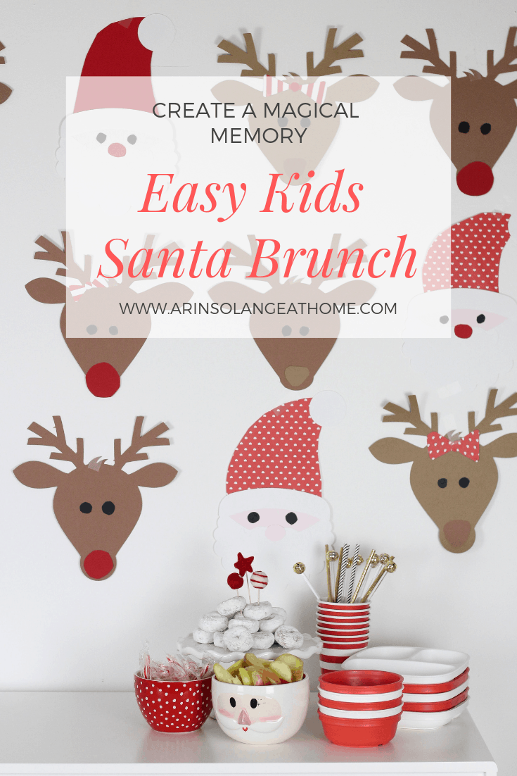 easy kids Santa brunch