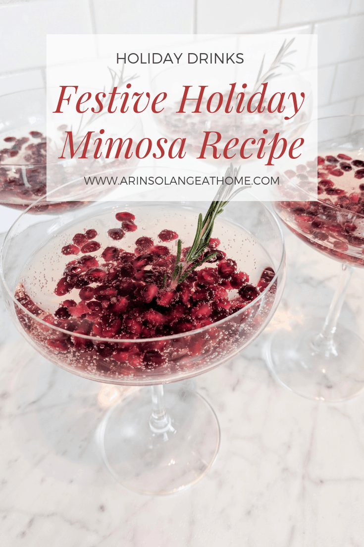 Festive Holiday Mimosa Recipes