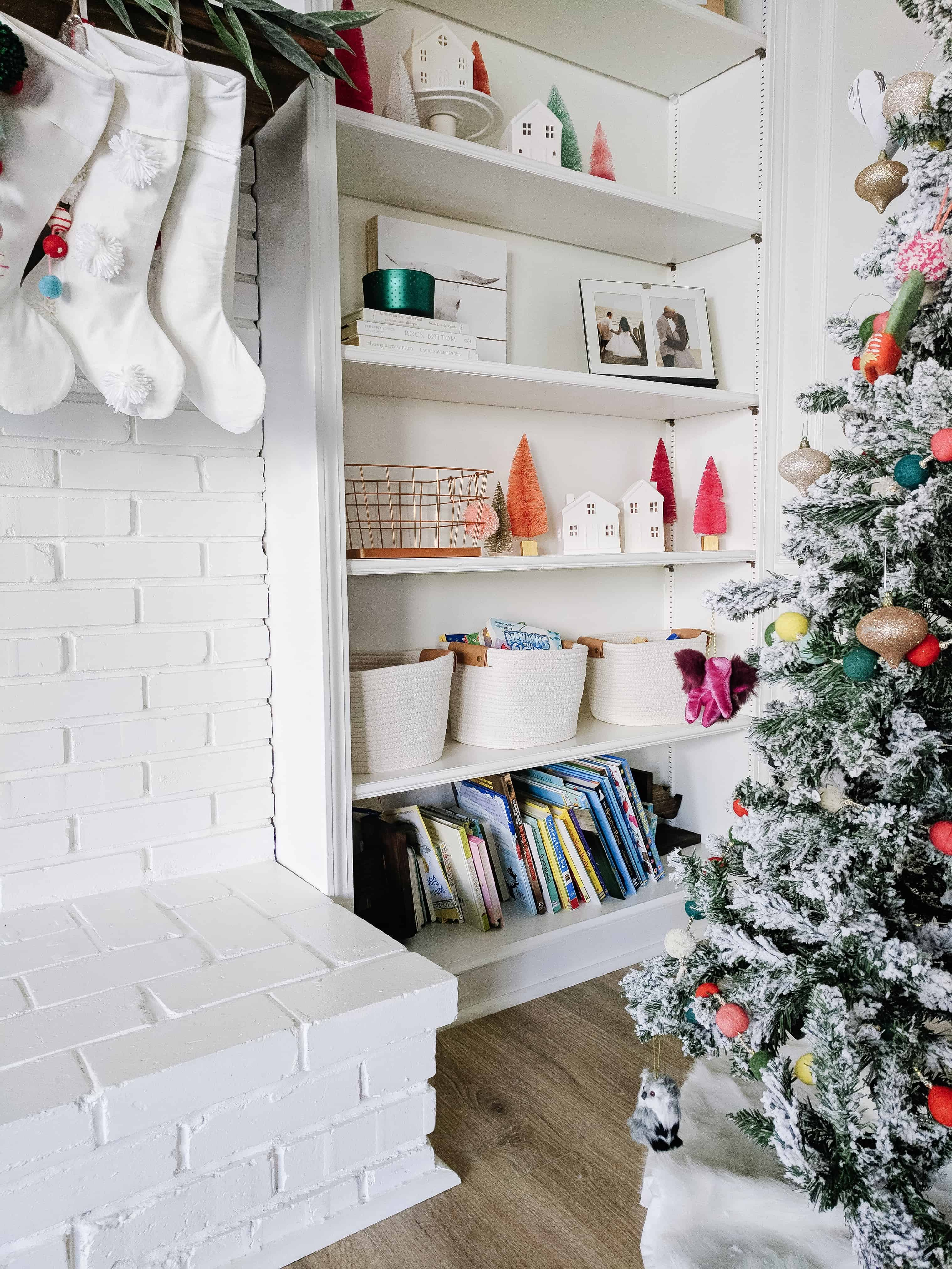 Built in's with toy organization