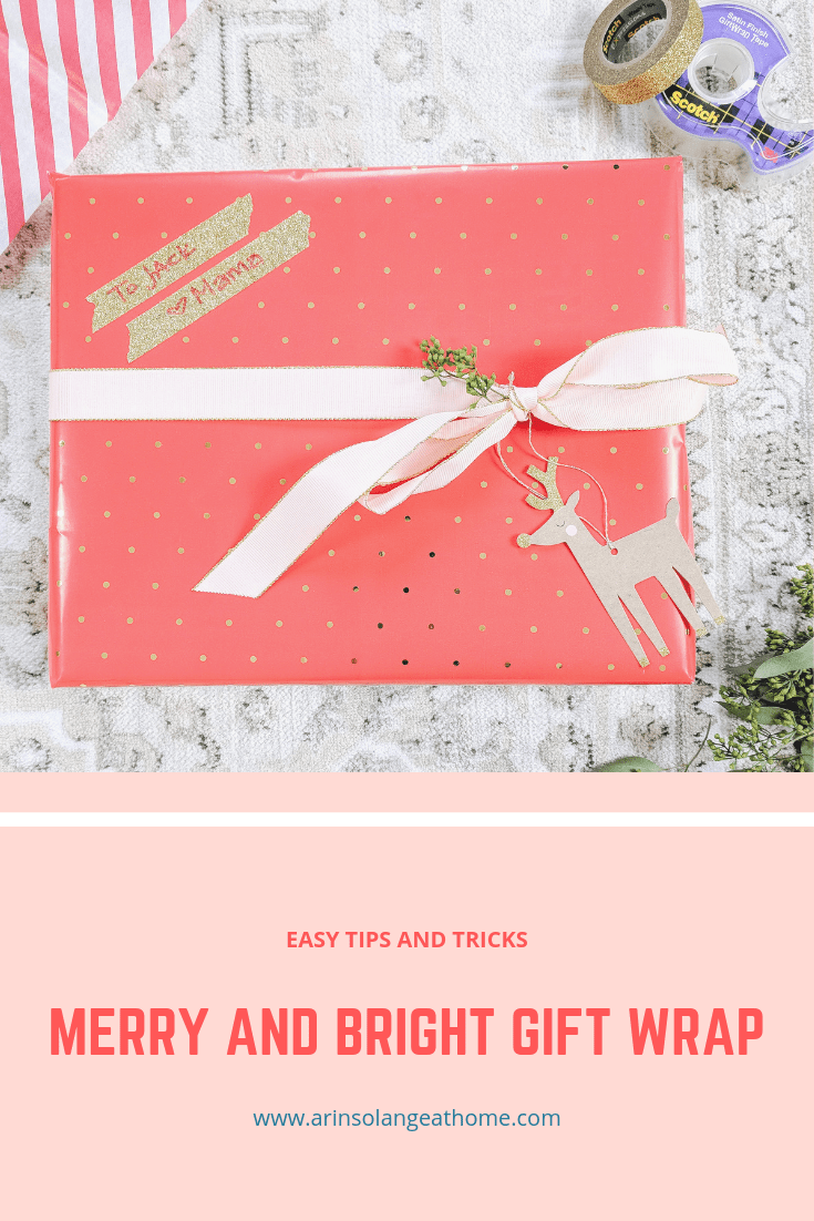 Merry and Bright Gift Wrap