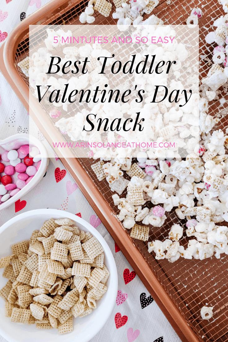Best Toddler Valentine's Day Snack