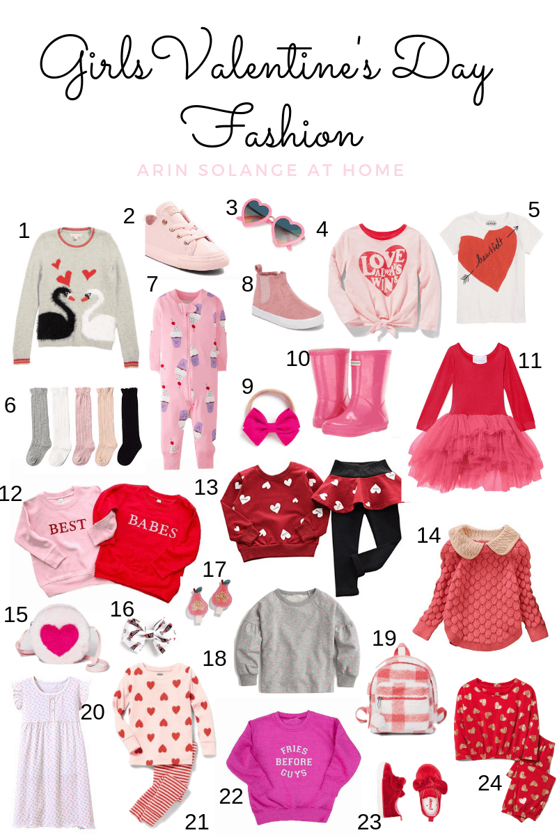 Girls Valentine's Day Fashion finds