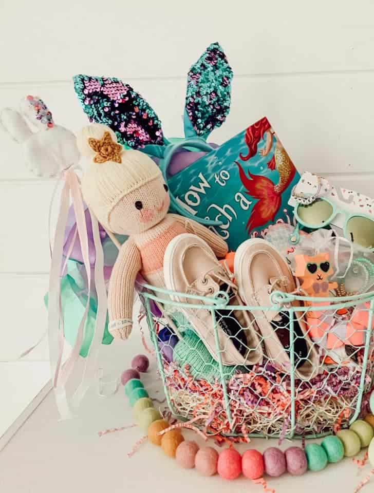 Mermaid themed Easter Basket