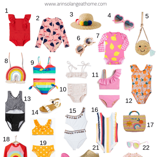 toddler swim roundup of swimsuits and accessories