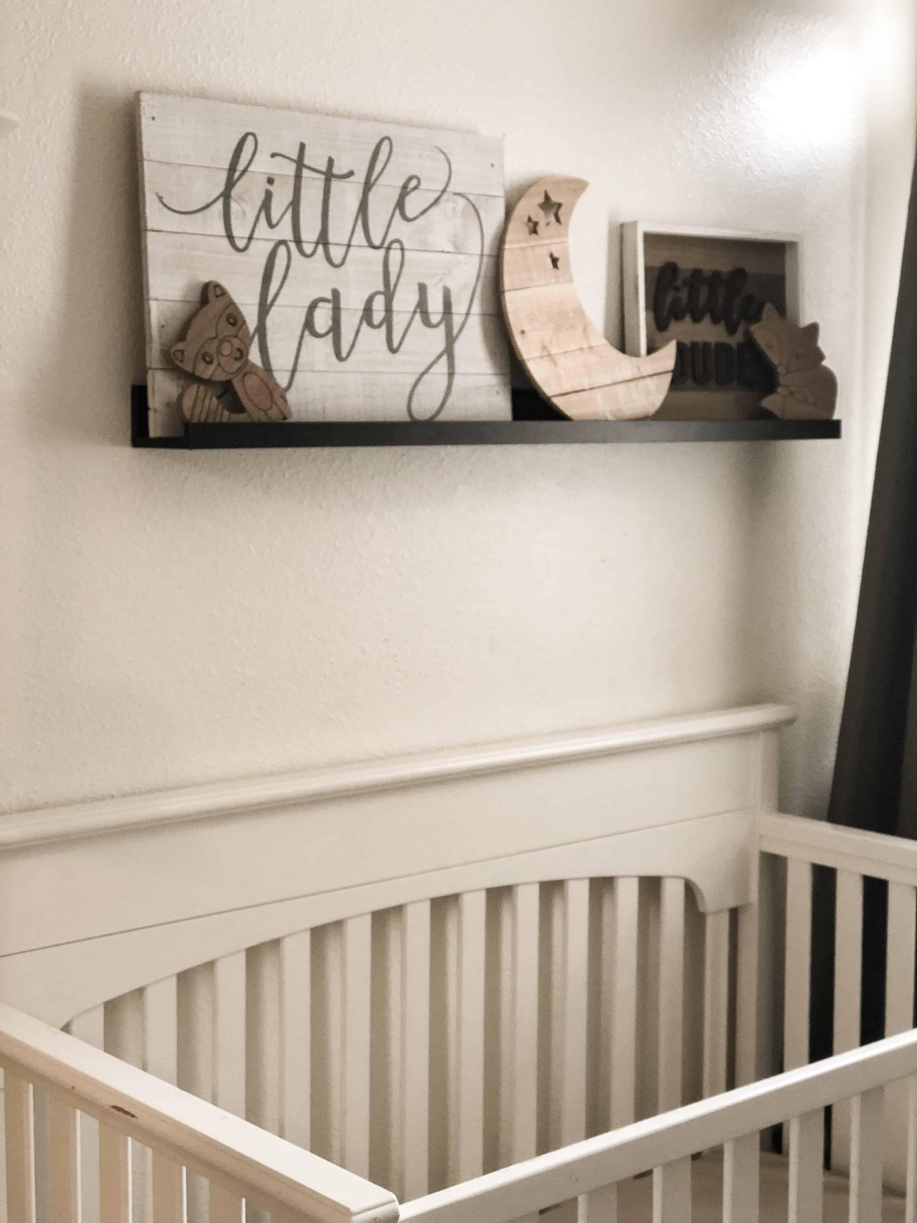Nuetral twin nursery