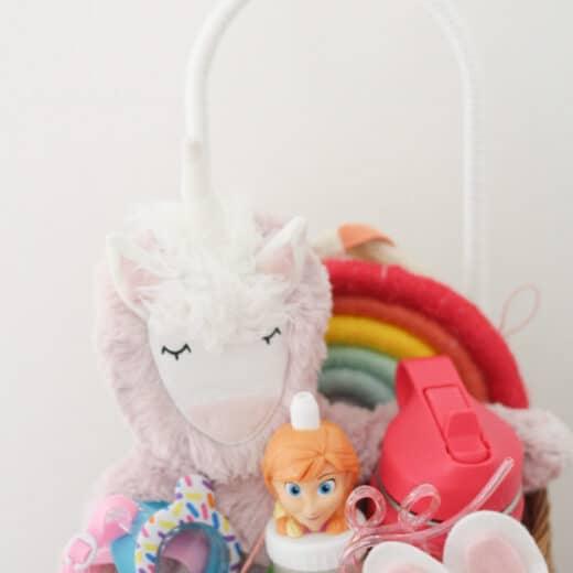 Little Girls Easter Basket