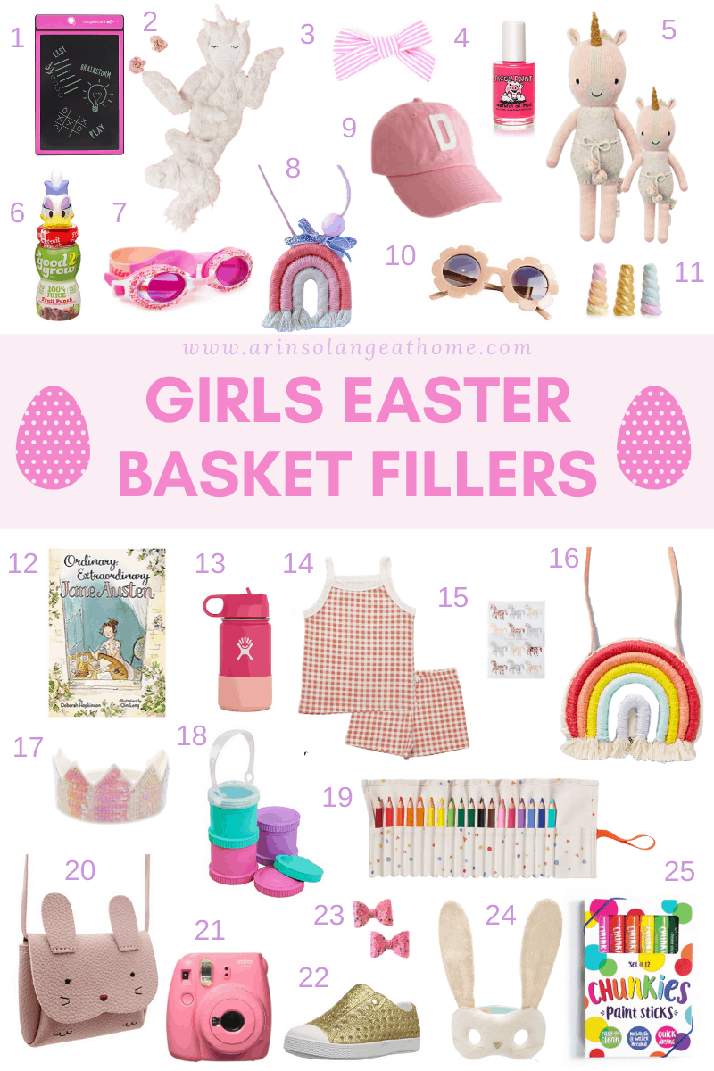Easter baskets for Girls