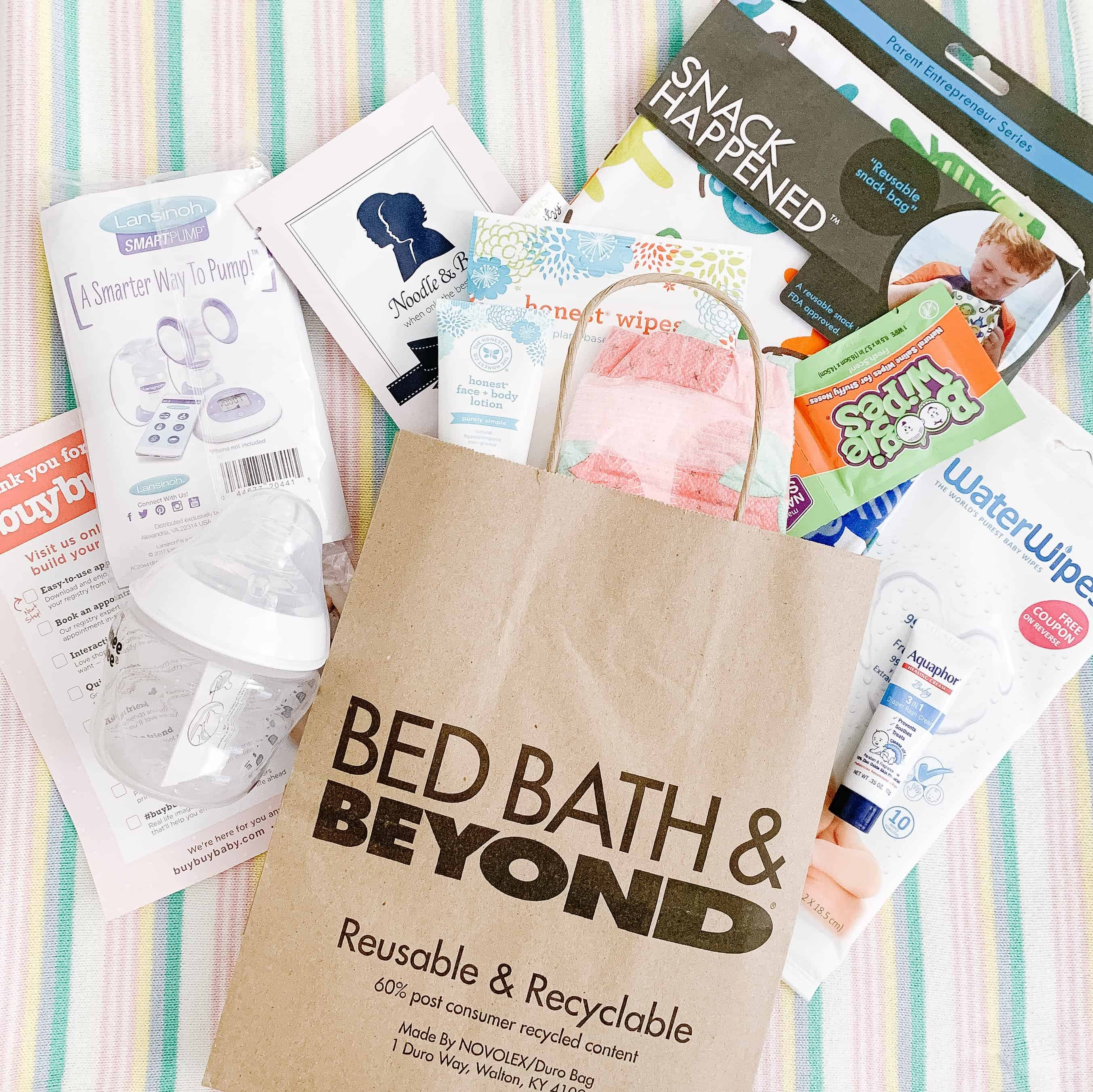 buybuy BABY registry goodie bag