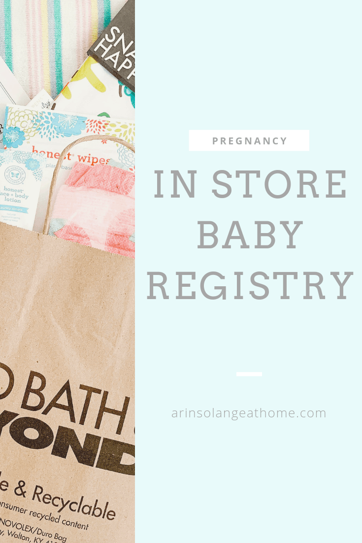 registering for baby in store graphic