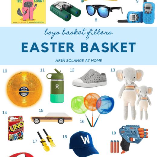 boys easter basket