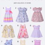 Classic Easter Dresses for Little Girls