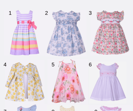 A round up of Classic Easter Dresses for little Girls