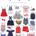 Toddler Girl 4th of July Outfit Ideas