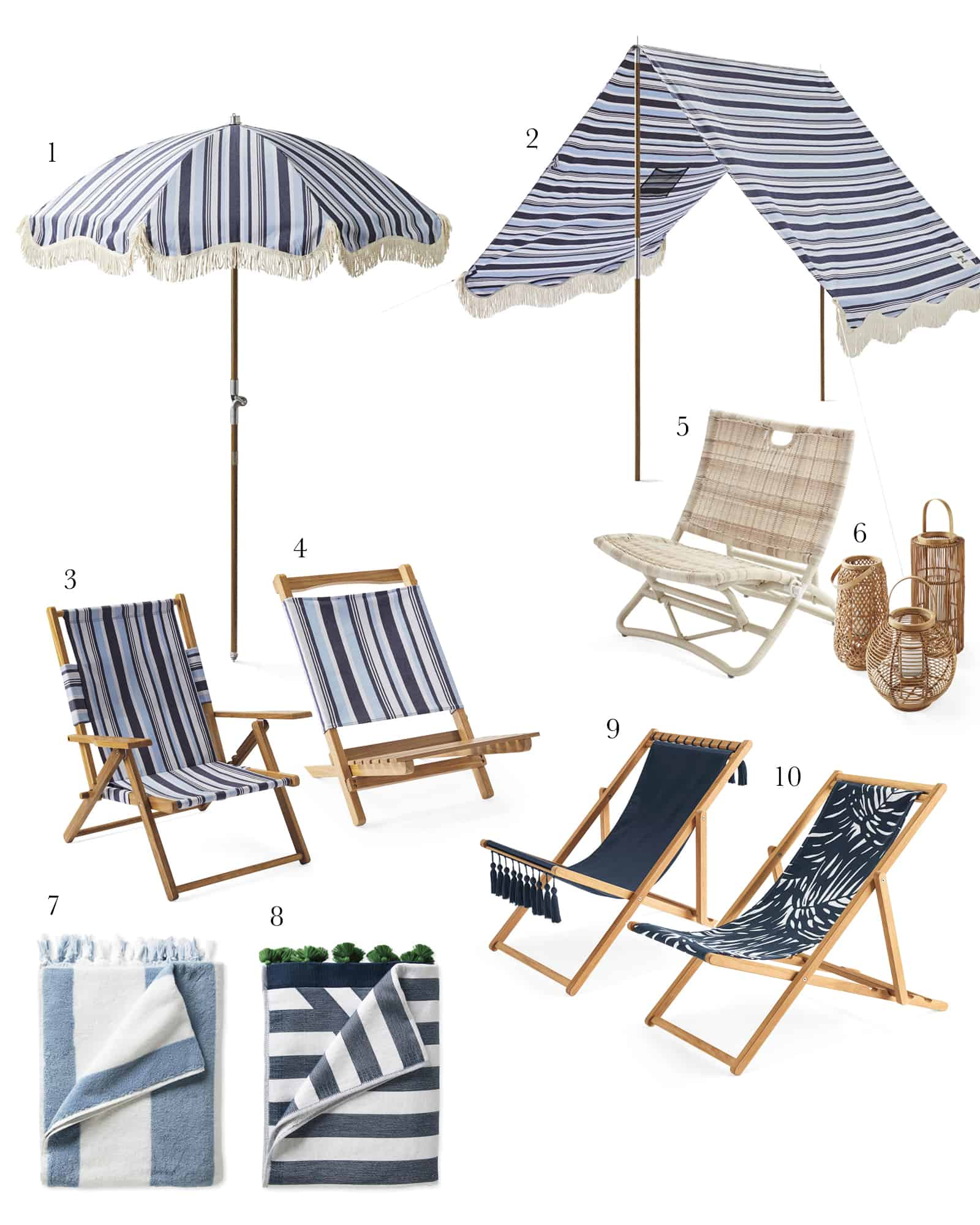 Beach Furniture from Serena and Lily