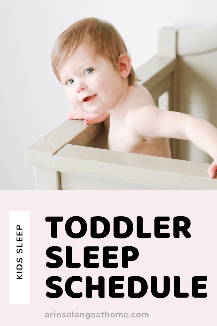 toddler sleep schedule by arinsolangeathome.com