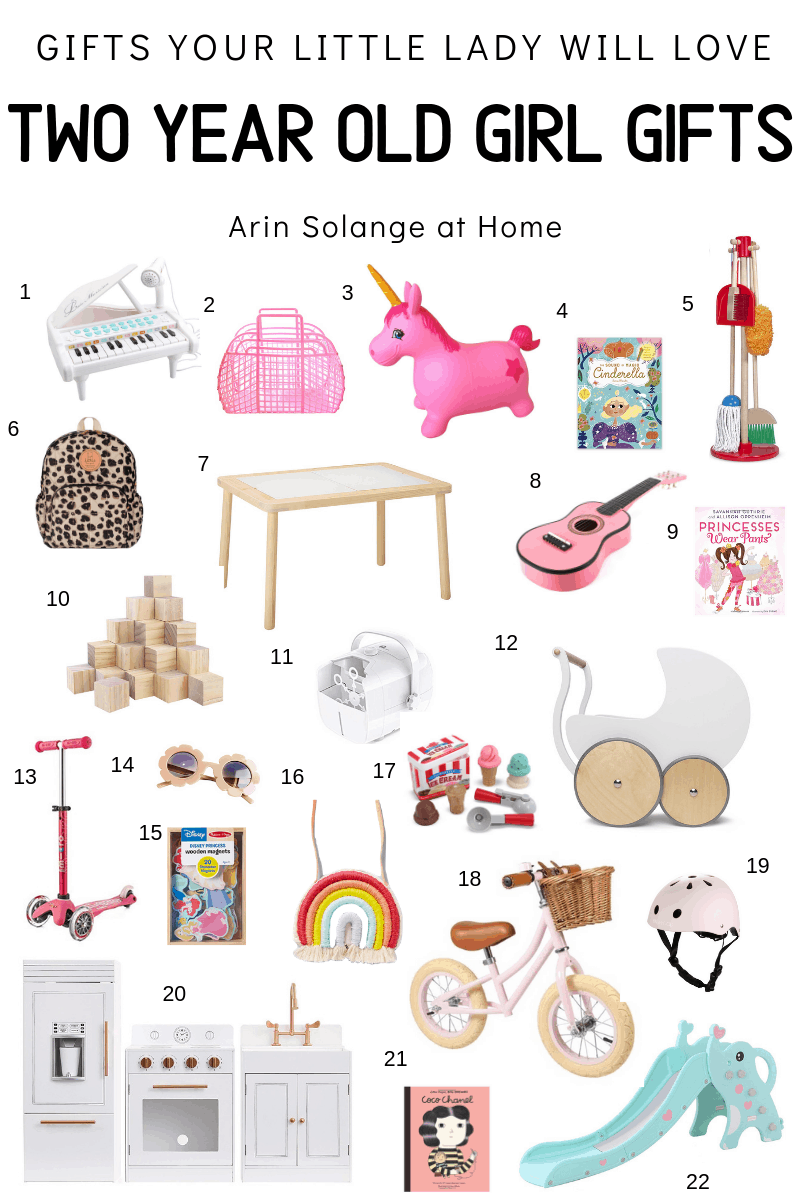 Two Year Old Girl Gift Guide