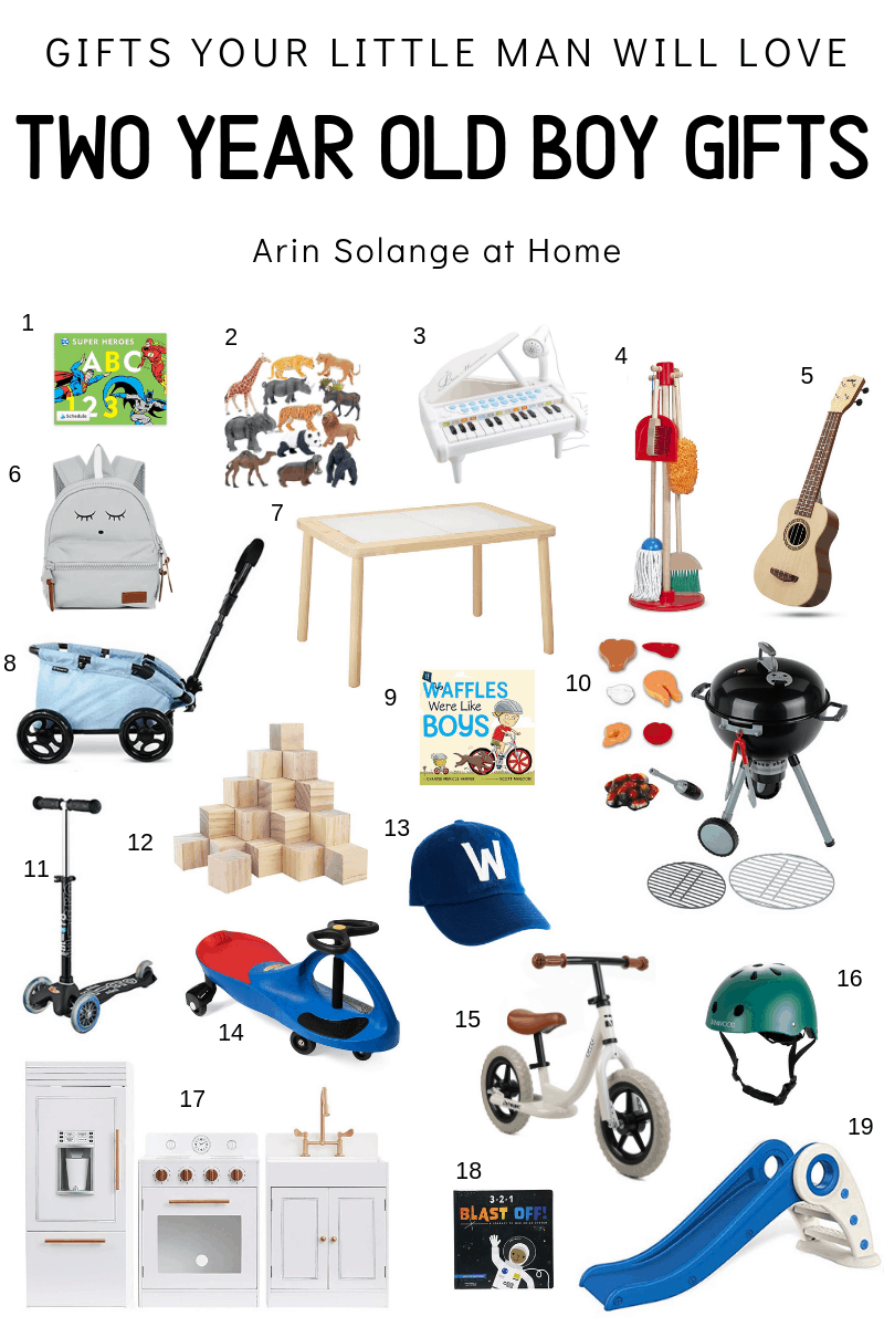two year old boy gift guide
