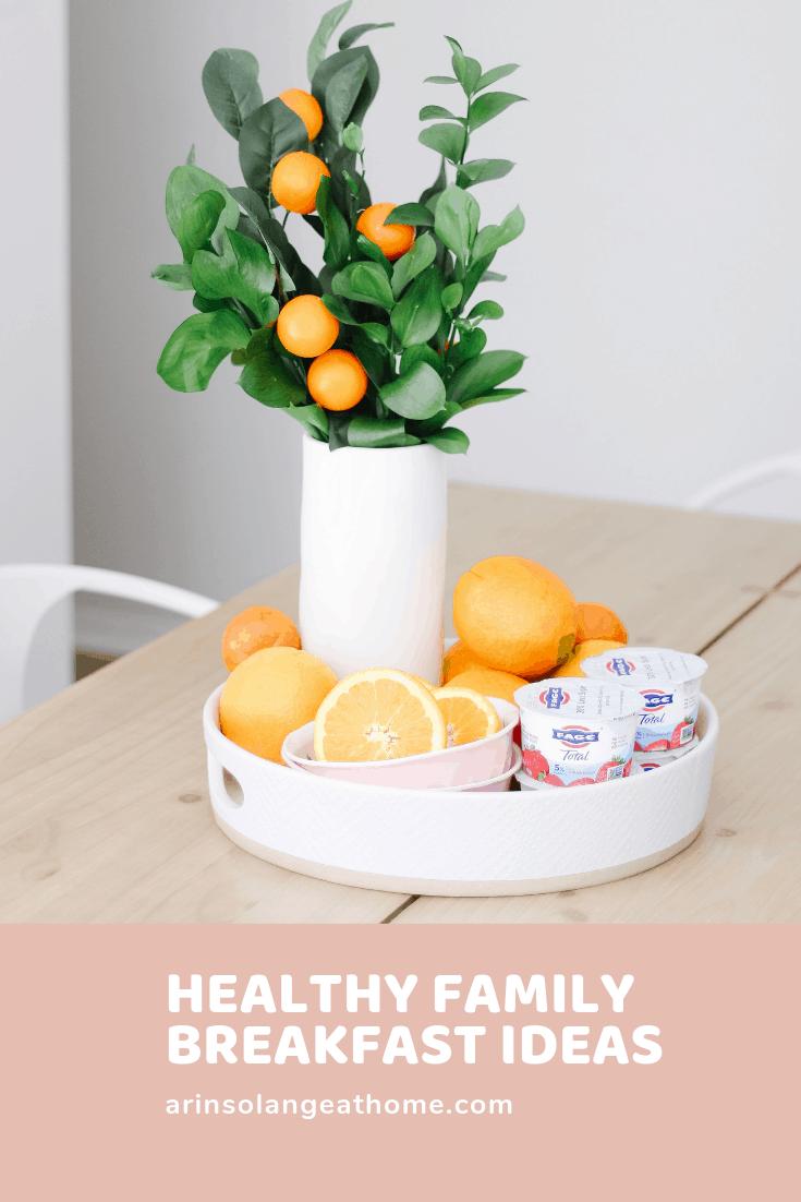 healthy family friendly breakfast ideas