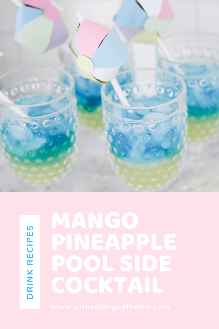Mango Pineapple Pool Side Cocktail