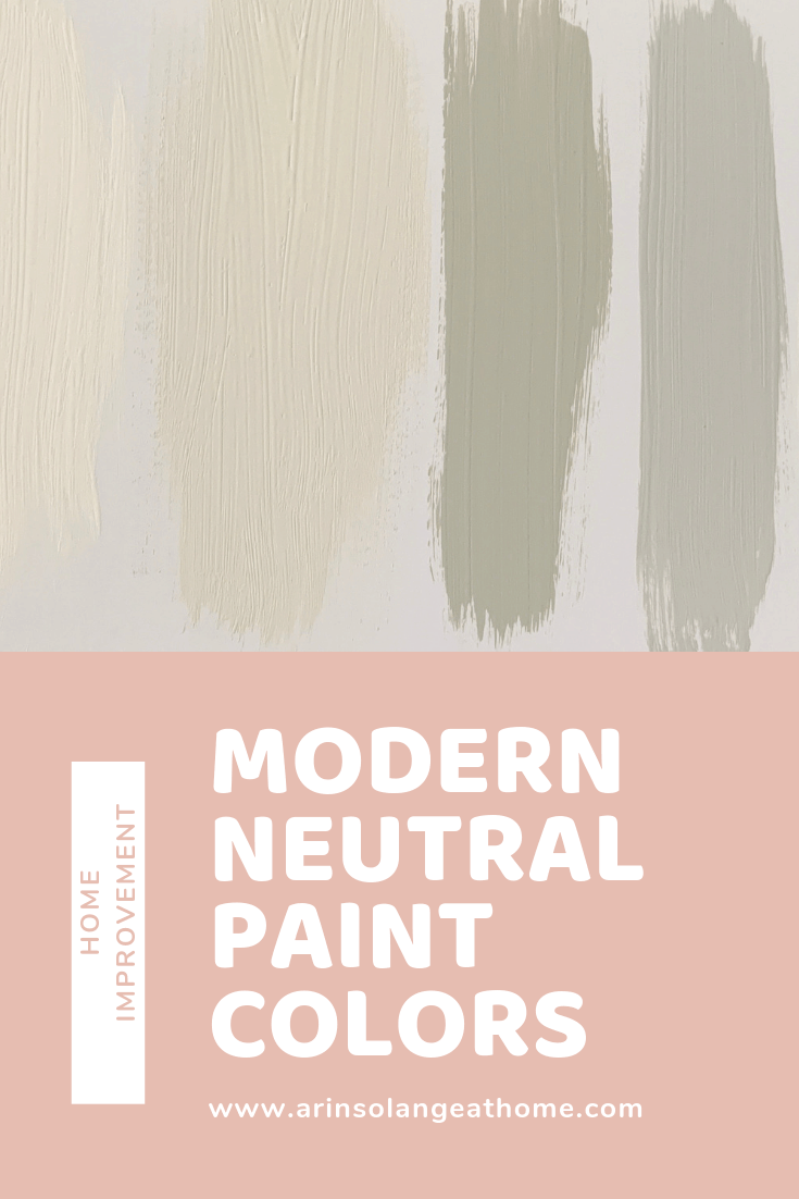 Modern Neutral Paint Colors