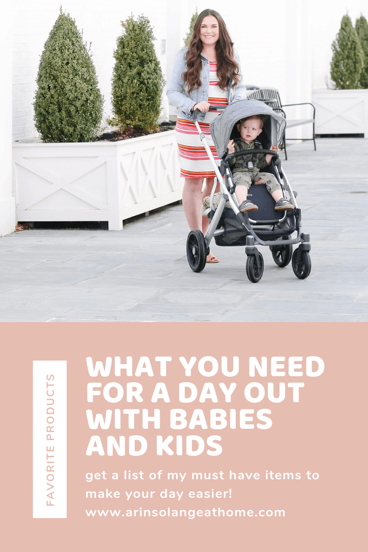 What you need for a day out with babies and kids photo