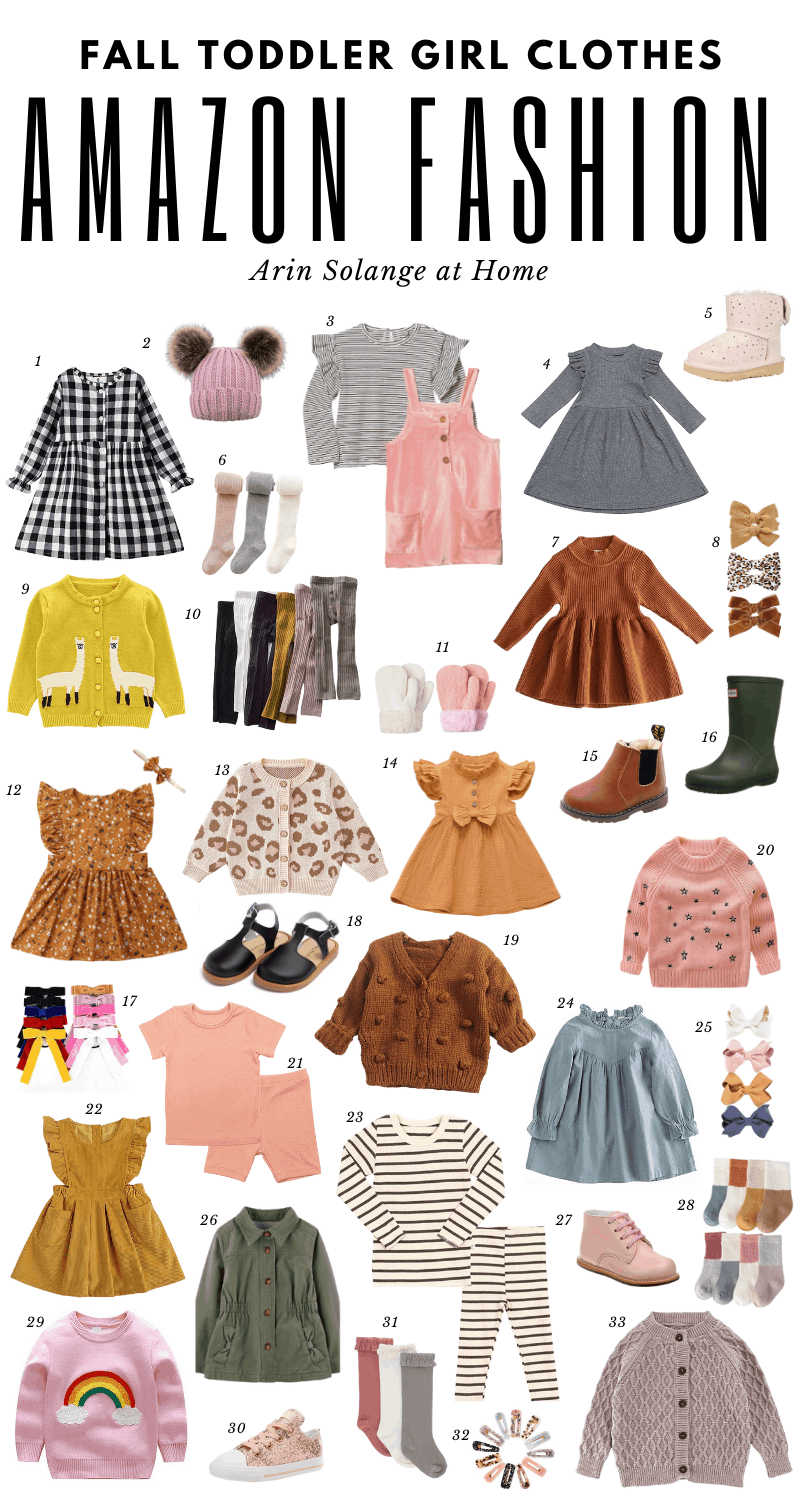 amazon fall fashion for toddler girls