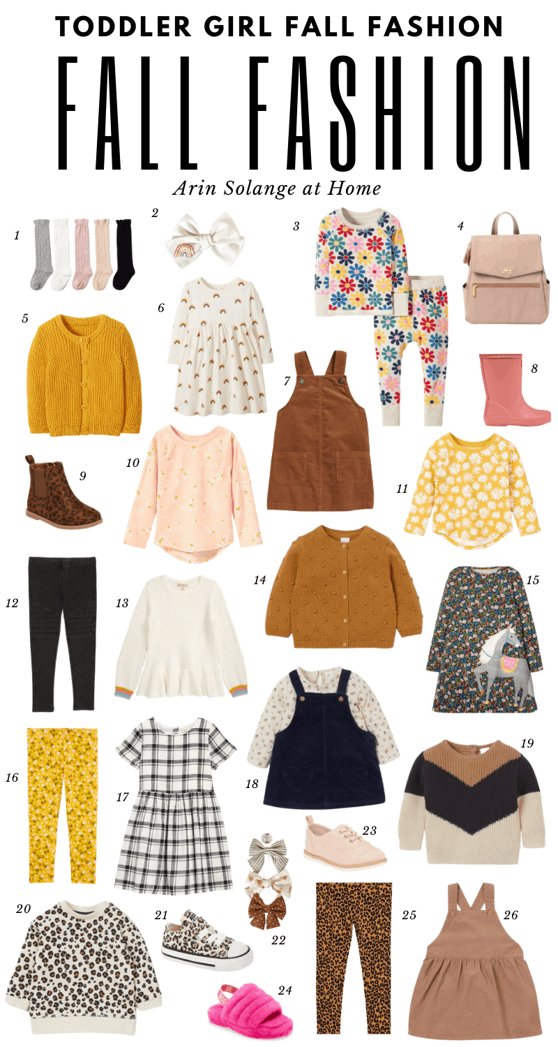 toddler girl fall fashion picks