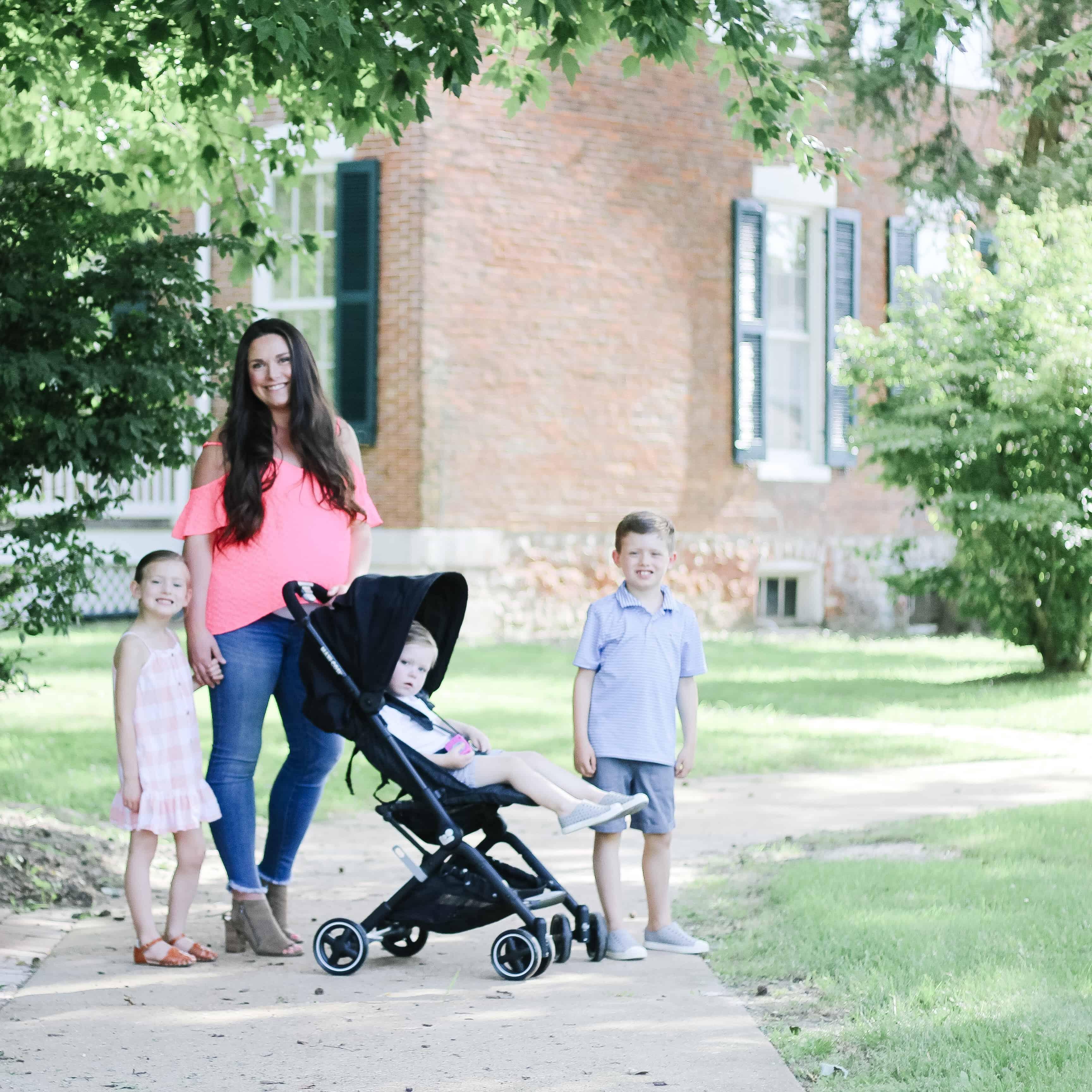 Mom and 3 kids