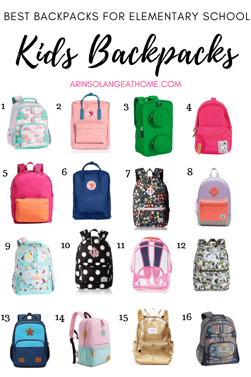 Roundup of elementary school backpacks