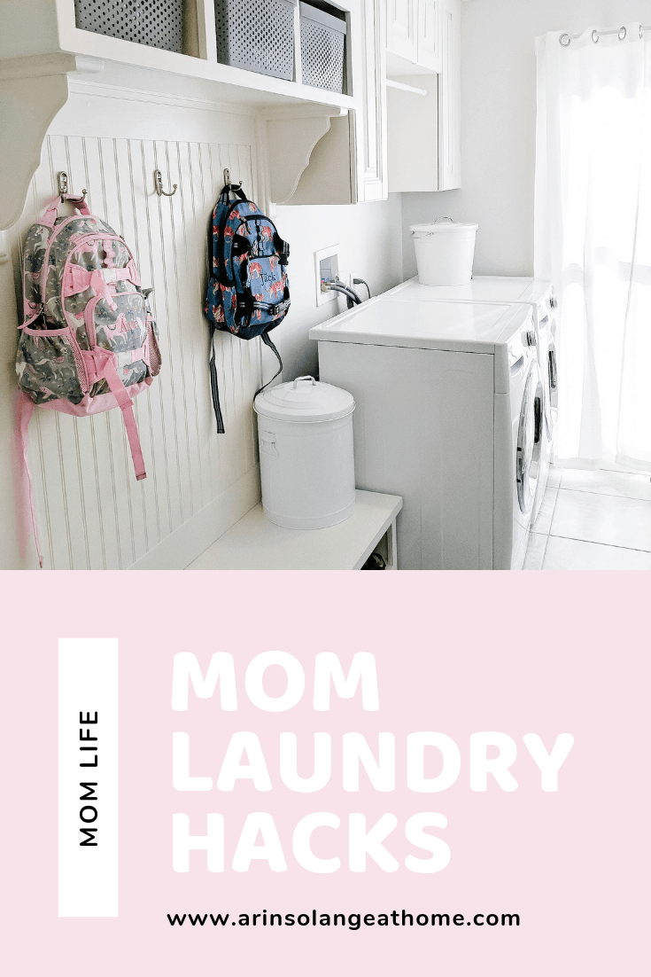 Mom laundry Hacks for a large family