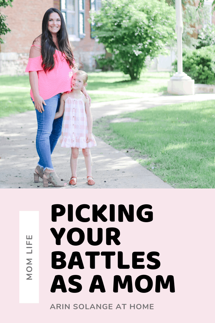 Picking your battles as a mom