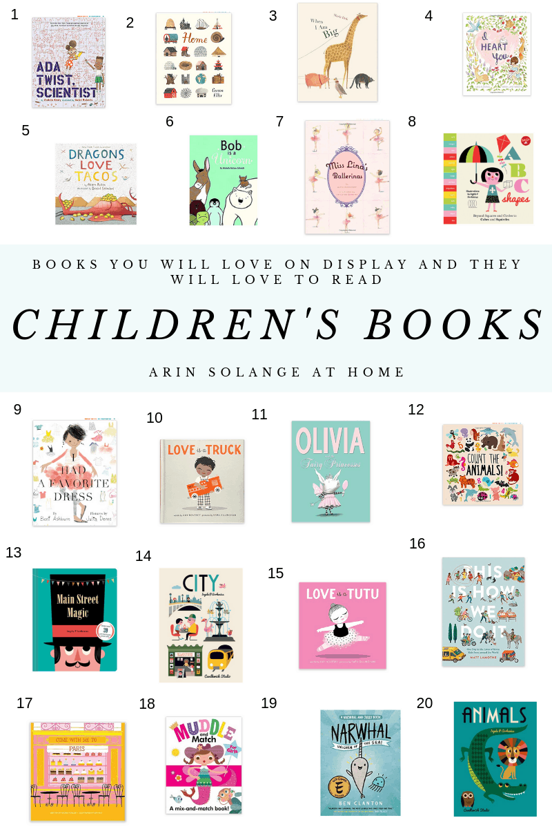 Round up of favorite children's books with cute covers