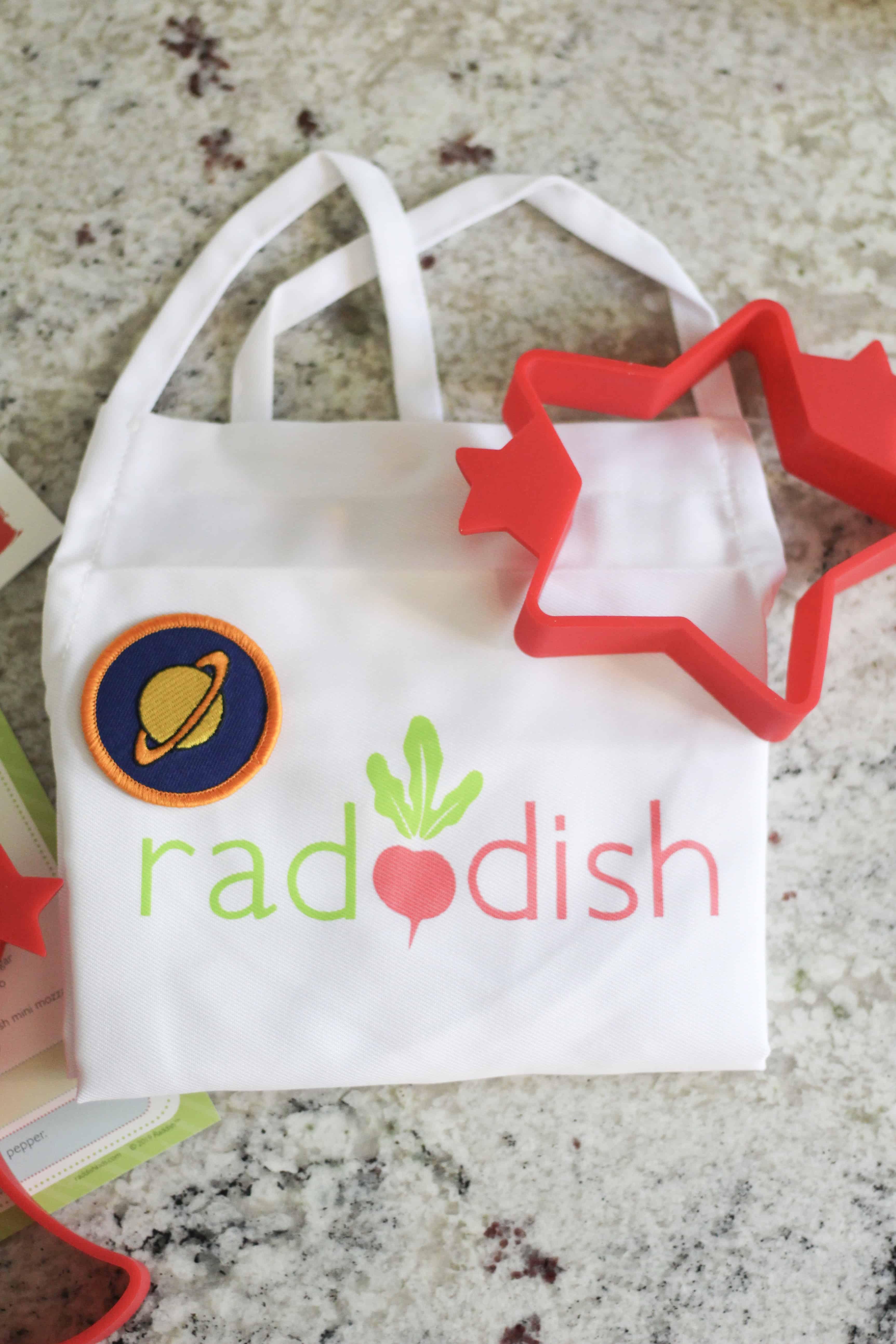 Raddish Kids apron