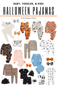 Halloween Pajamas for baby and kids
