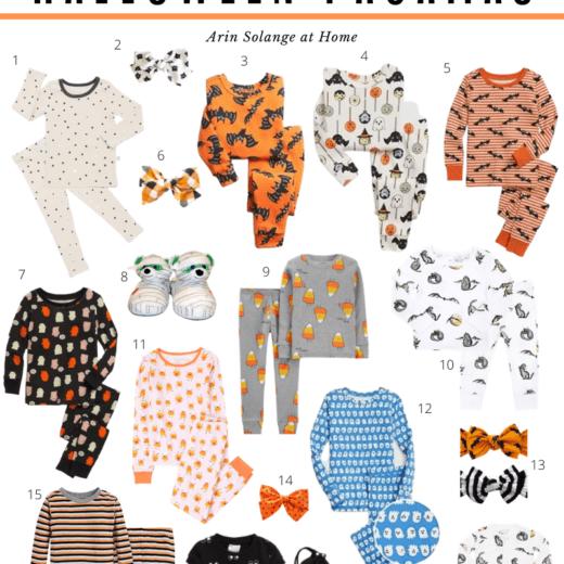 Halloween Pajamas for baby and kids