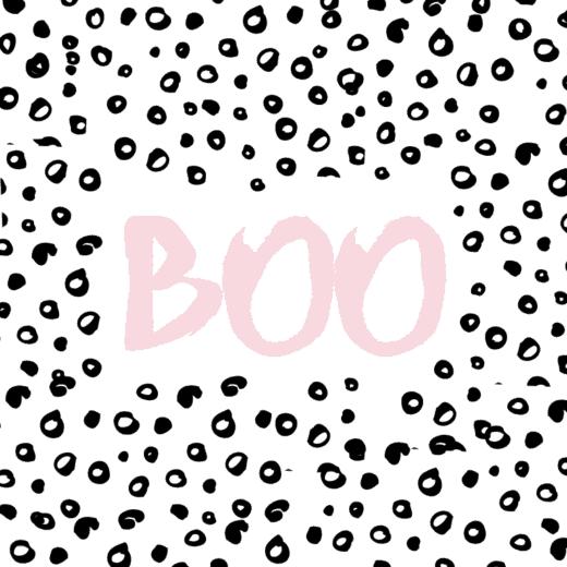 Pink BOO printable art