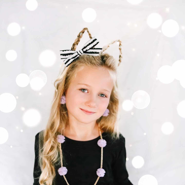 Cat ear Halloween Hair