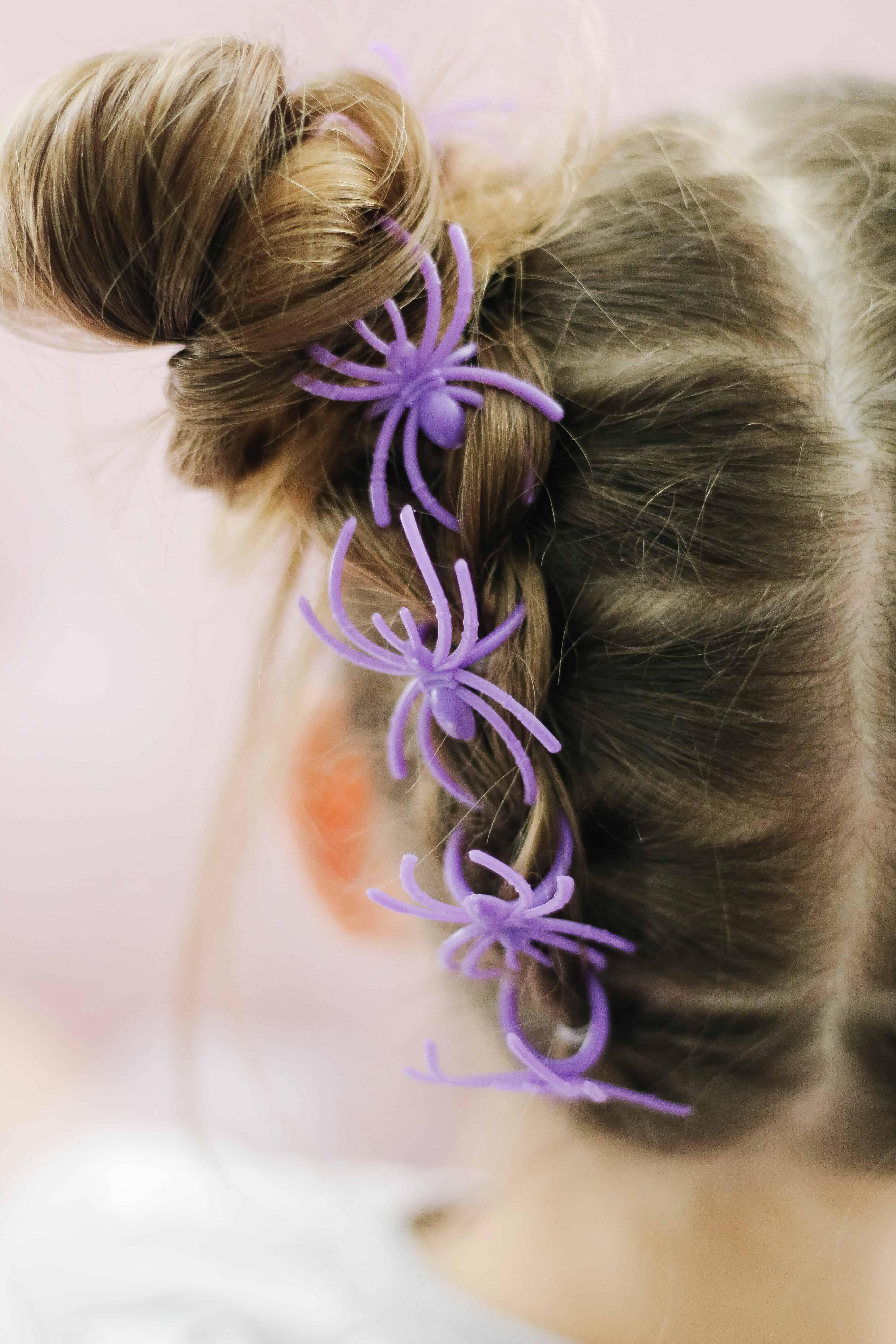 Halloween hair for toddler